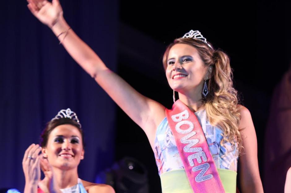 Carolina Cordero es la nueva reina departamental de la Vendimia